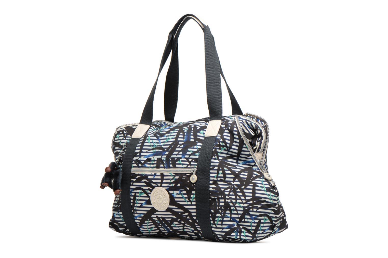 Reisegepäck Kipling Art M lila schuhe getragen