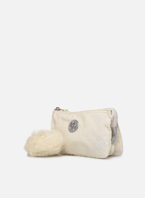 Petite Maroquinerie kipling Creativity L Blanc vue portées chaussures