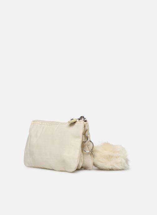 Portemonnaies & Clutches Kipling Creativity L weiß ansicht von rechts