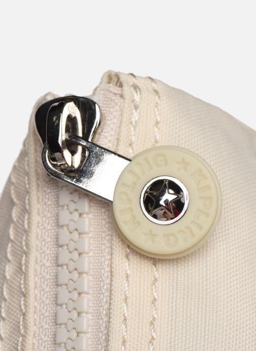 Portemonnaies & Clutches Kipling Creativity L weiß ansicht von links