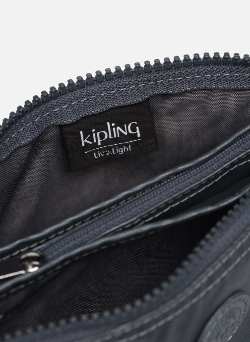 Kleine lederwaren kipling Creativity L Zilver achterkant