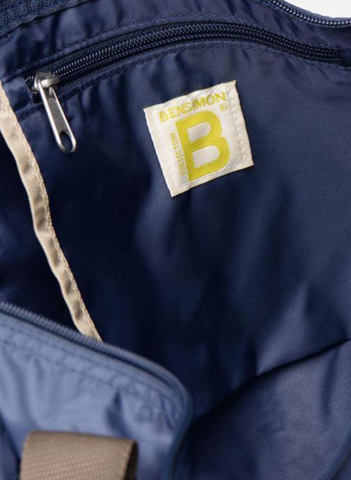 Sporttassen Bensimon Color Bag Blauw achterkant
