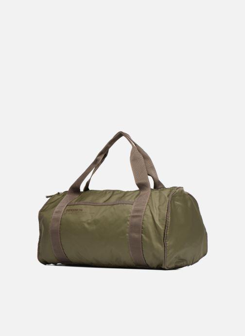 Sacs de sport Bensimon Color Bag Vert vue portées chaussures