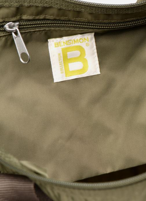 Sporttassen Bensimon Color Bag Groen achterkant