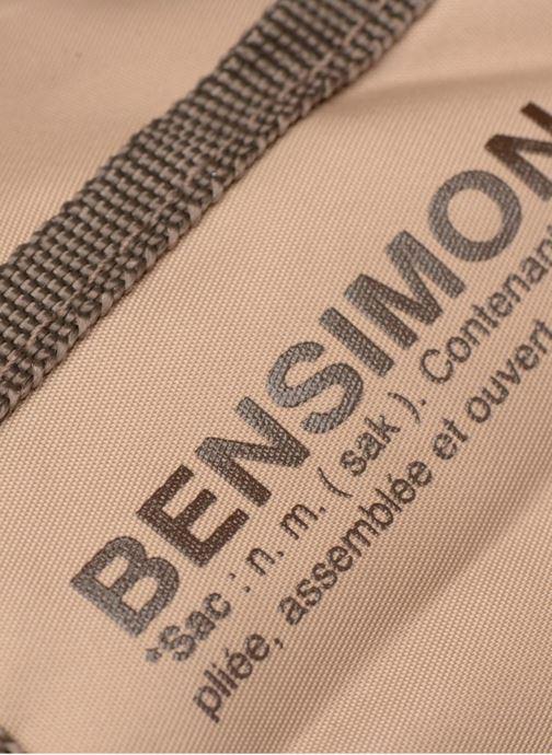 Sporttassen Bensimon Color Bag Beige links