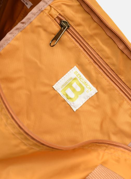 Sacs de sport Bensimon Color Bag Jaune vue derrière