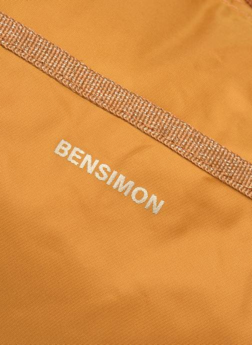Sporttaschen Bensimon Color Bag gelb ansicht von links
