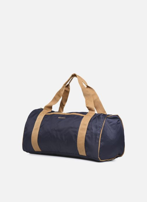 Borsa da palestra Bensimon Color Bag Azzurro modello indossato