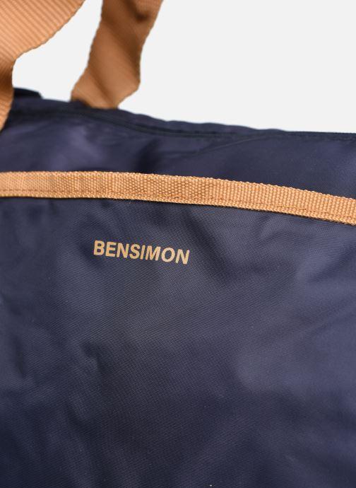 Borsa da palestra Bensimon Color Bag Azzurro immagine sinistra
