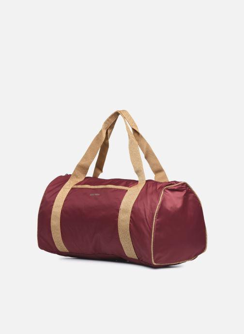 Sporttaschen Bensimon Color Bag weinrot schuhe getragen