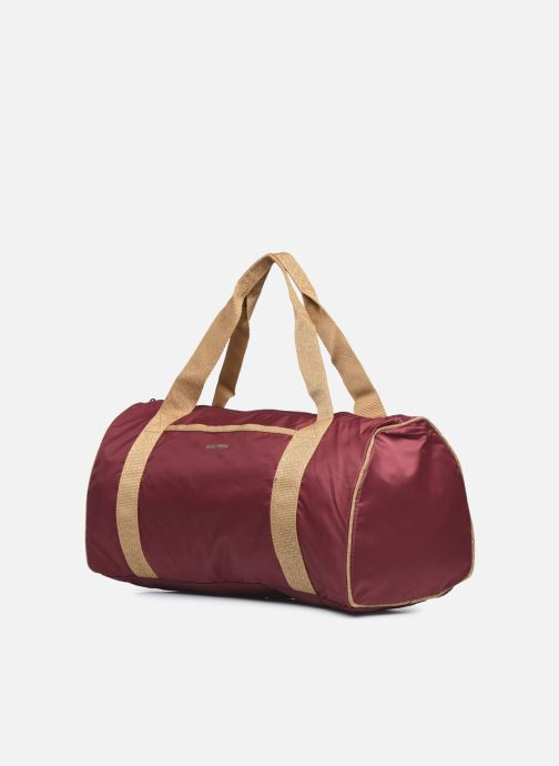 Borsa da palestra Bensimon Color Bag Bordò modello indossato