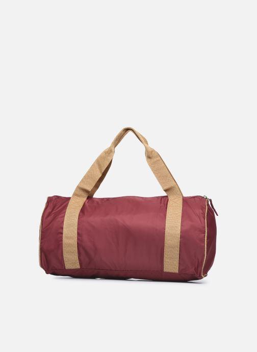Sporttaschen Bensimon Color Bag weinrot ansicht von vorne