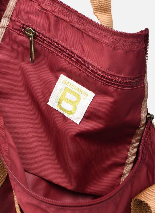 Sporttaschen Bensimon Color Bag weinrot ansicht von hinten
