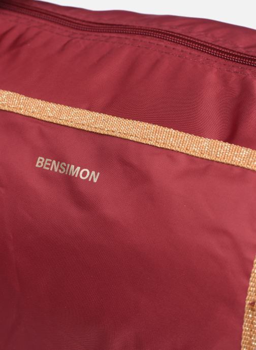 Borsa da palestra Bensimon Color Bag Bordò immagine sinistra