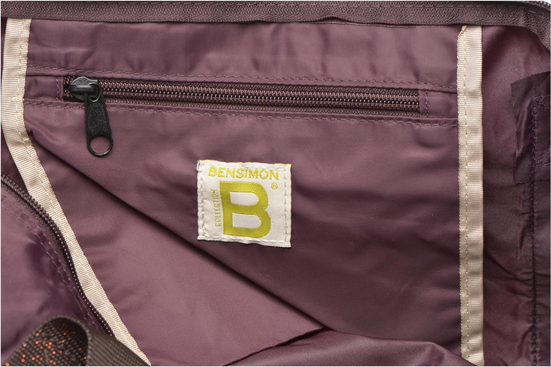 Sacs de sport Bensimon Color Bag Violet vue derrière