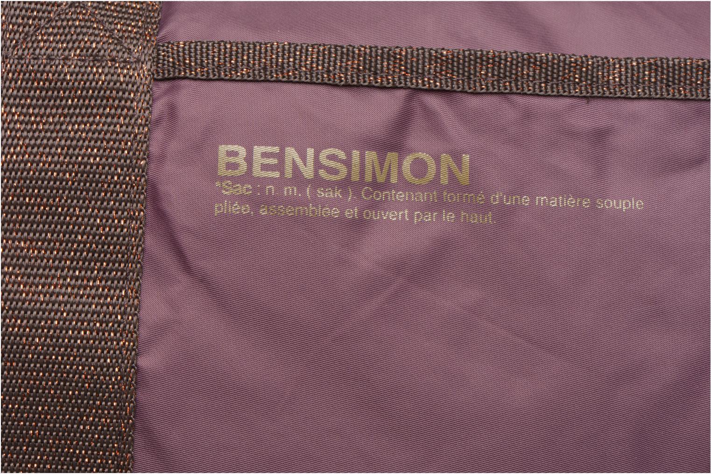 Sacs de sport Bensimon Color Bag Violet vue gauche