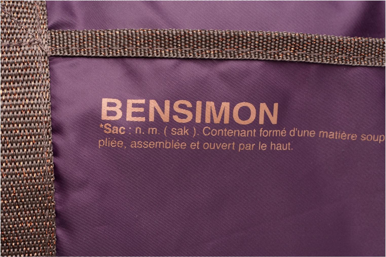 Sporttassen Bensimon Color Bag Paars links