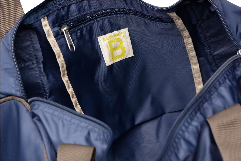 Sporttaschen Bensimon Color Bag blau ansicht von hinten