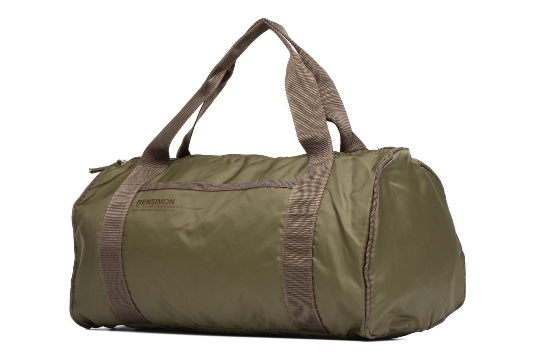 Sporttaschen Bensimon Color Bag grün schuhe getragen