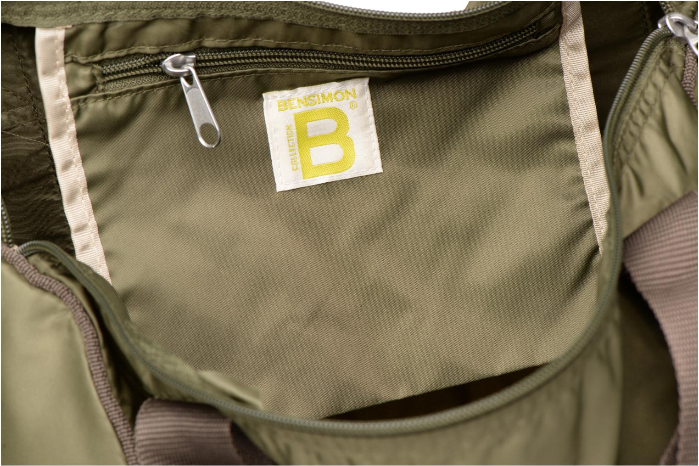 Sporttaschen Bensimon Color Bag grün ansicht von hinten