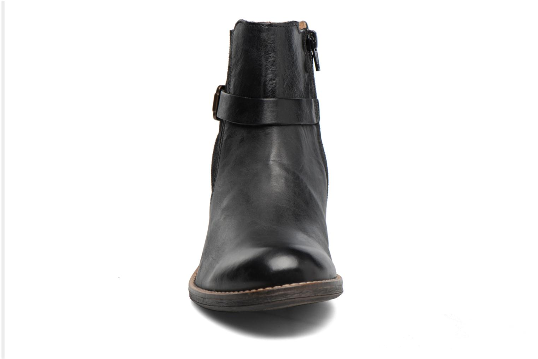 Bottines et boots Kickers Smack Noir vue portées chaussures