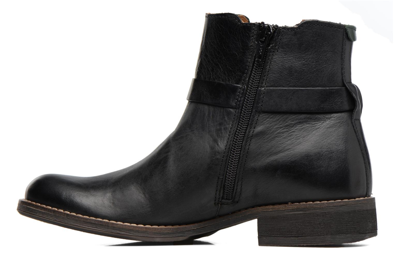 Bottines et boots Kickers Smack Noir vue face
