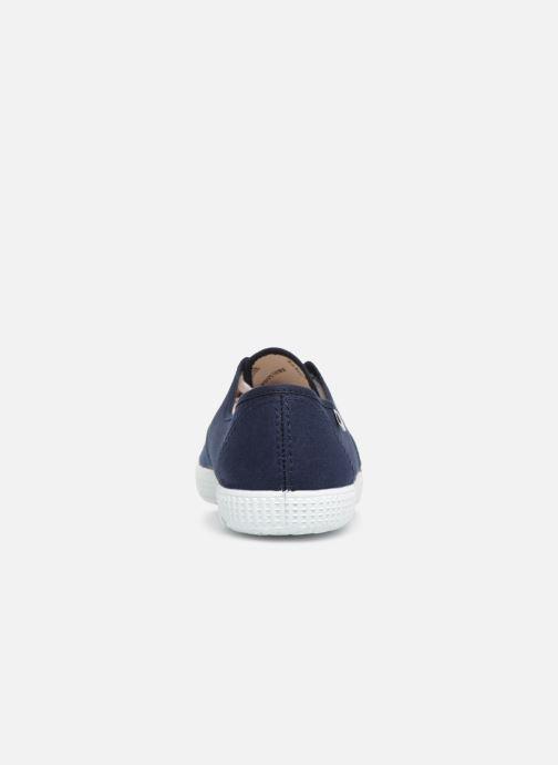 Sneaker Victoria Victoria M blau ansicht von rechts