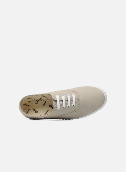 Sneaker Victoria Victoria W beige ansicht von links