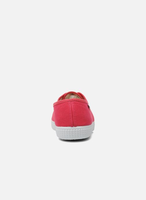 Sneaker Victoria Victoria W rosa ansicht von rechts