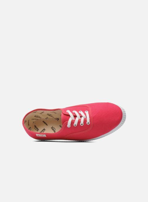 Sneaker Victoria Victoria W rosa ansicht von links
