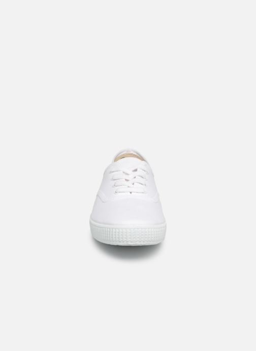 Baskets Victoria Victoria W Blanc vue portées chaussures