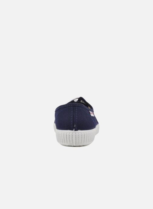 Sneaker Victoria Victoria W blau ansicht von rechts