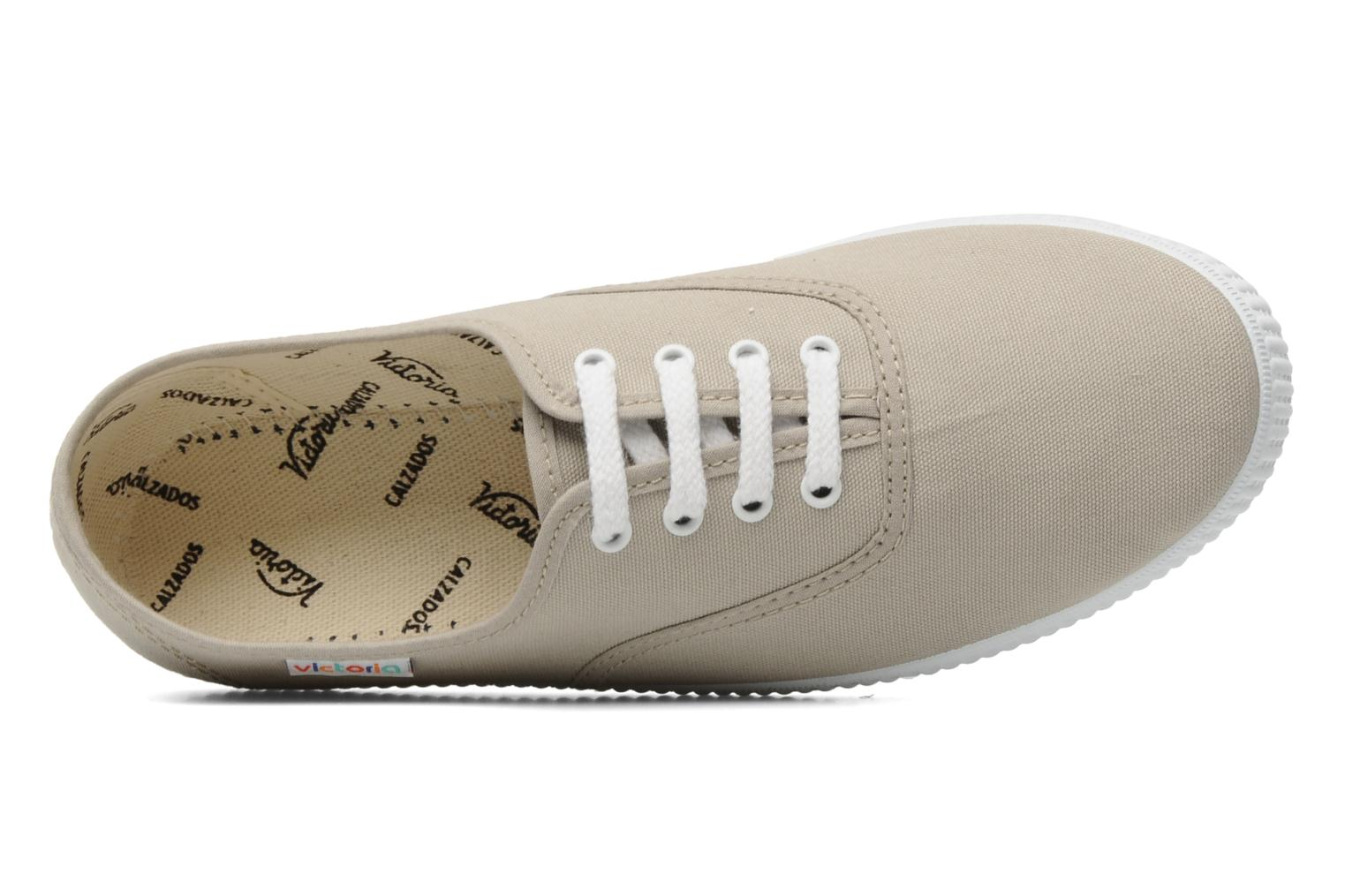 Trainers Victoria Victoria W Beige view from the left