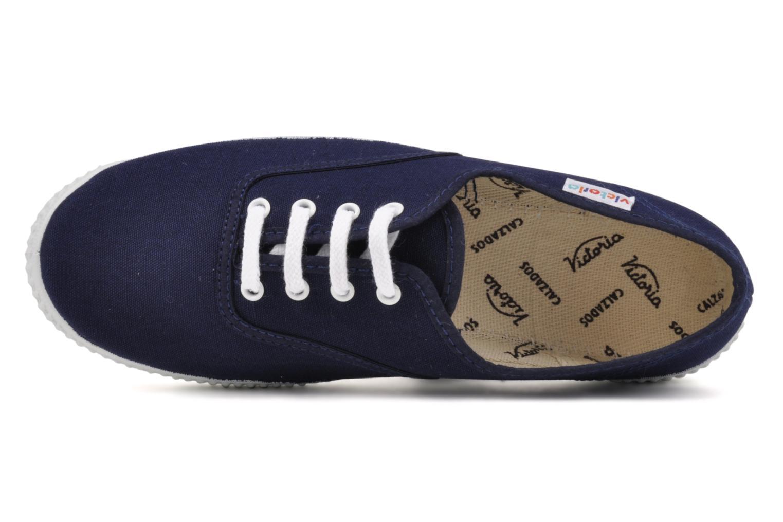 Sneaker Victoria Victoria W blau ansicht von links