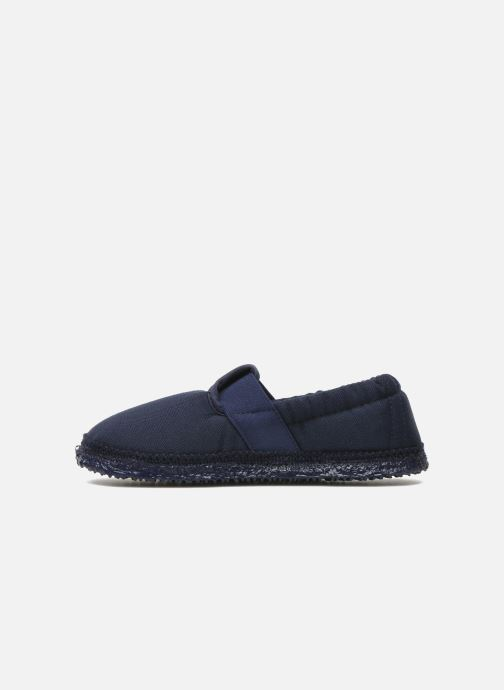 Slippers Giesswein Aichach Blue front view