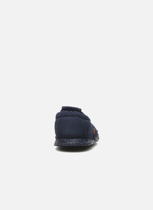 Pantoffels Giesswein Aichach Blauw rechts