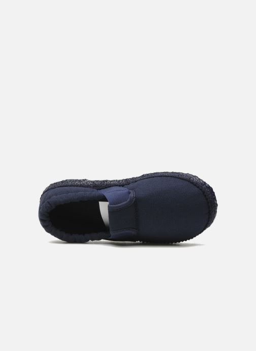 Pantoffels Giesswein Aichach Blauw links