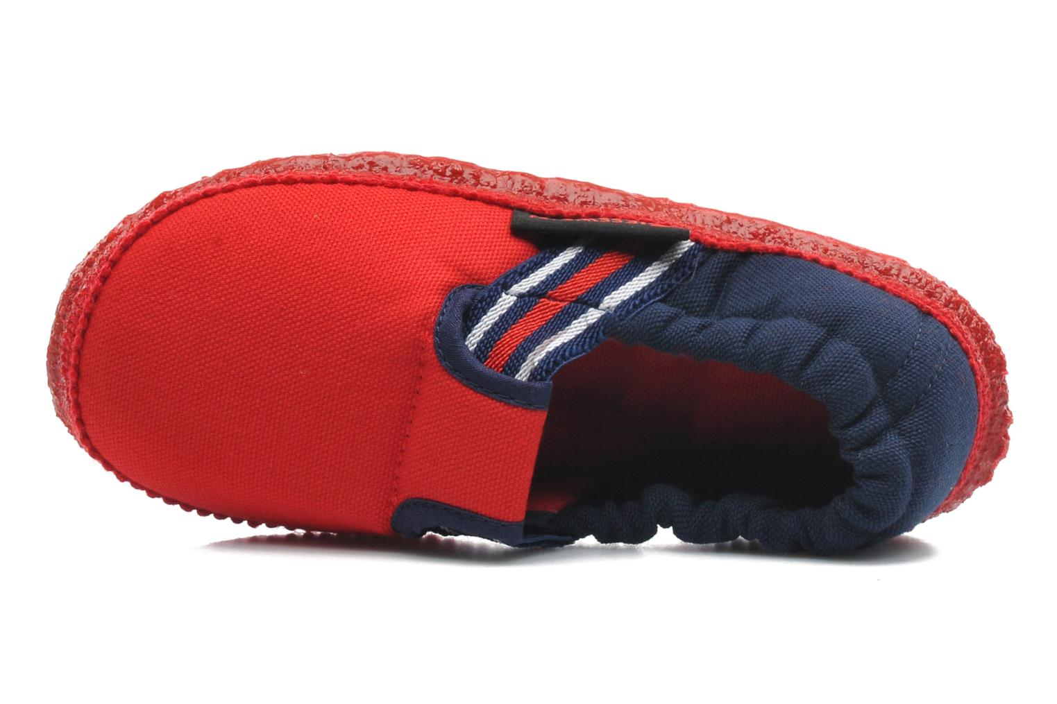 Slippers Giesswein Aichach Red view from the left
