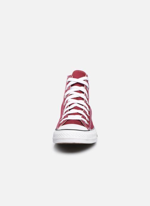 Baskets Converse Chuck Taylor All Star Hi M Bordeaux vue portées chaussures