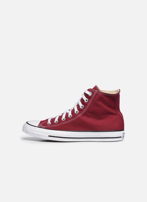Sneaker Converse Chuck Taylor All Star Hi M weinrot ansicht von vorne