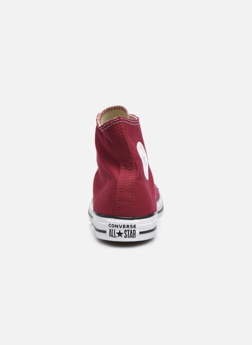 Trainers Converse Chuck Taylor All Star Hi Burgundy view from the right