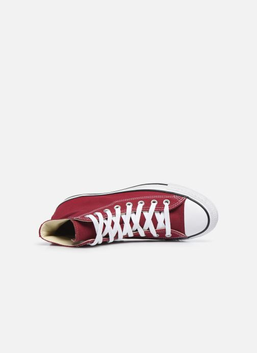 Baskets Converse Chuck Taylor All Star Hi M Bordeaux vue gauche