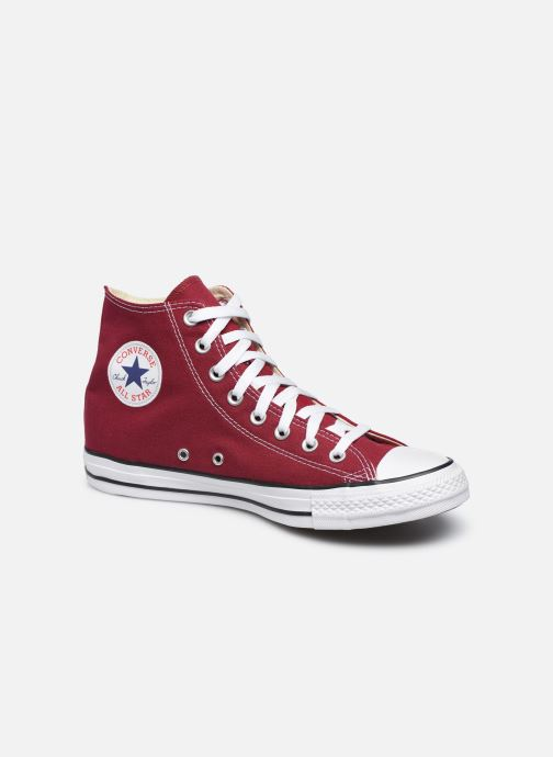Trainers Converse Chuck Taylor All Star Hi Burgundy detailed view/ Pair view