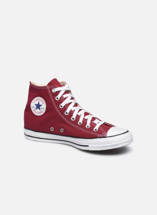 Sneakers Converse Chuck Taylor All Star Hi M Bordeaux detaljeret billede af skoene