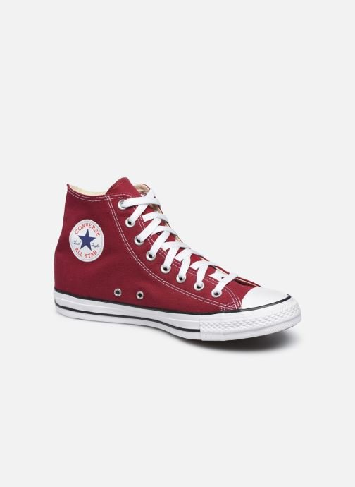Baskets Converse Chuck Taylor All Star Hi M Bordeaux vue détail/paire