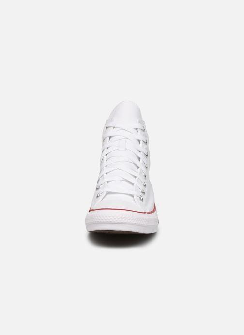 Sneaker Converse Chuck Taylor All Star Hi M weiß schuhe getragen