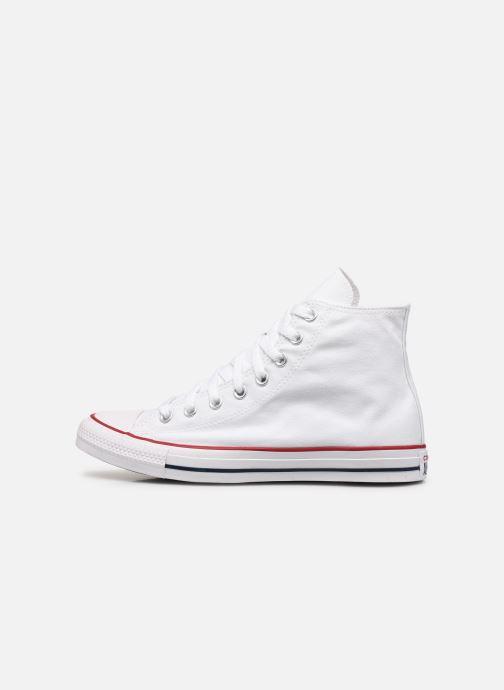 Sneaker Converse Chuck Taylor All Star Hi M weiß ansicht von vorne