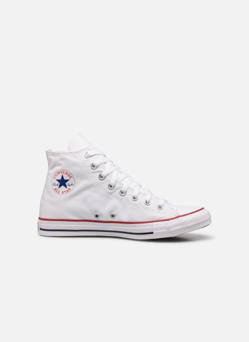 Sneaker Converse Chuck Taylor All Star Hi M weiß ansicht von hinten