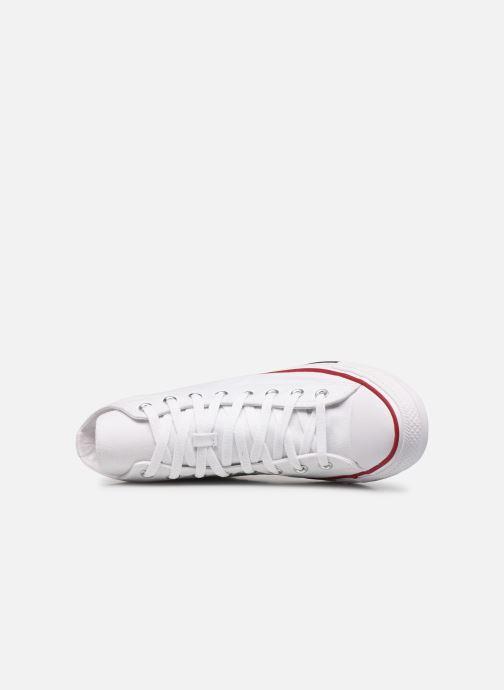 Sneaker Converse Chuck Taylor All Star Hi M weiß ansicht von links