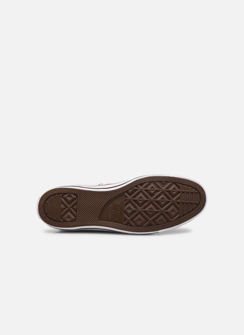Sneaker Converse Chuck Taylor All Star Hi M weiß ansicht von oben